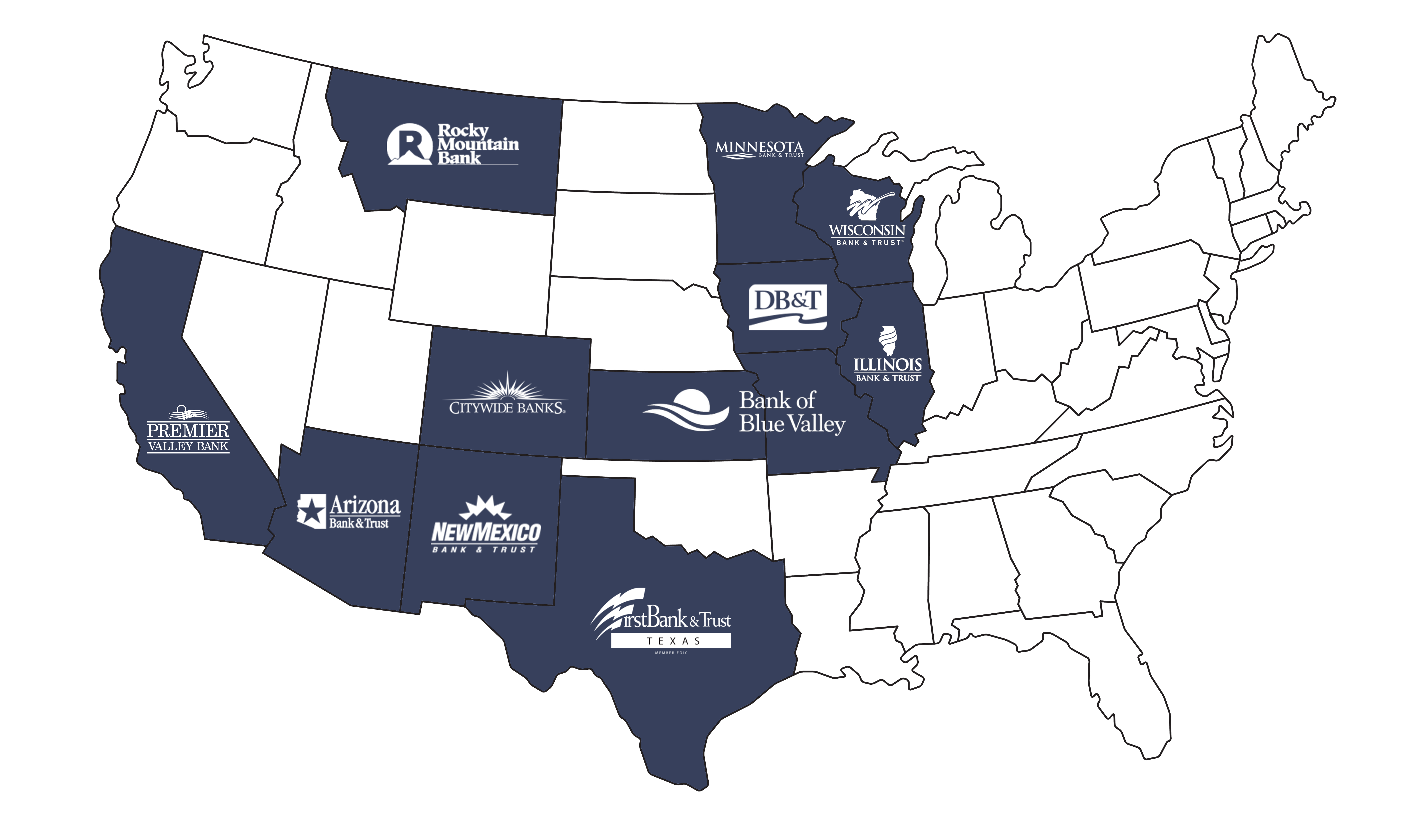 Heartland Retirement Plan Services Locations Map